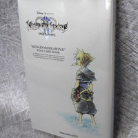 KINGDOM HEARTS II Postcard Book Art Illustration Japan PS2 OOP SE95