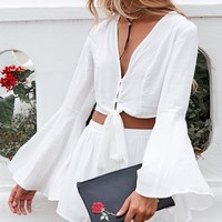 Ryan Two Piece Set White