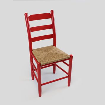 Dixie Seating Co. Beach Mountain Wood Ladderback Dining Chair No. 80W - Ships within  2 to 4 Weeks