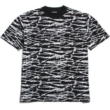 Barb Wire Shirt Black