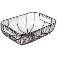 Antique Bronze Rectangle Wire Basket | Hobby Lobby