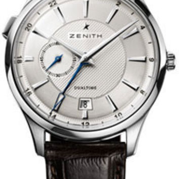 Zenith - Elite Captain Dual Time Stainless Steel #03.2130.682/02.C498