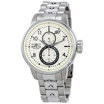 Invicta S1 Rally Ivory Dial Mens Watch 23058