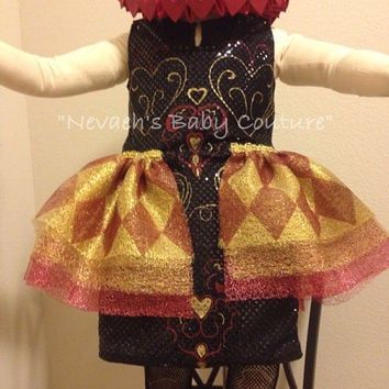Lizzie Hearts Costume Child