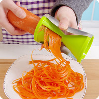 Vegetable Fruit Spiral Shred Process Device Cutter Slicer Peeler Kitchen Tool