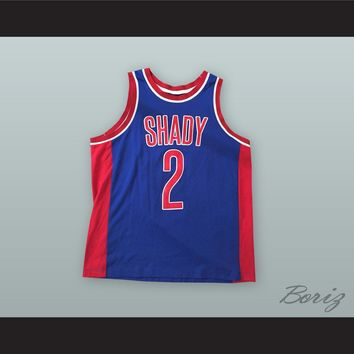 Slim Shady 2 MMLP Blue Basketball Jersey