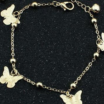 Gold & Silver Ankle Chains - 6 Styles