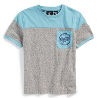 Boy's Volcom 'Kaden' Colorblock T-Shirt,