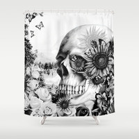 Reflection Shower Curtain by Kristy Patterson Design