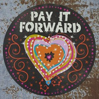 Car  Magnets:  Pay  It  forward  Car  Magnet  From  Natural  Life