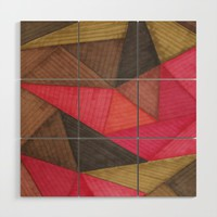 Geometric experience 01 Wood Wall Art by vivigonzalezart