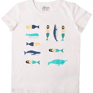 Mermaid Tee by Yizi