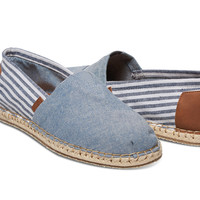 CHAMBRAY BLANKET STITCH MEN'S CLASSIC