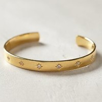 Elizabeth and James Bassa Cuff Gold One Size Jewelry