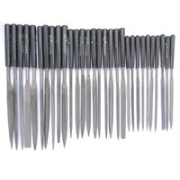 30pcs  Woodworking Needle Filesls Micro tech Metal Filing Mini Hand Tool for Hobby
