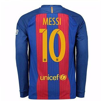 2016 2017 Barcelona Home Nike Long Sleeve Shirt