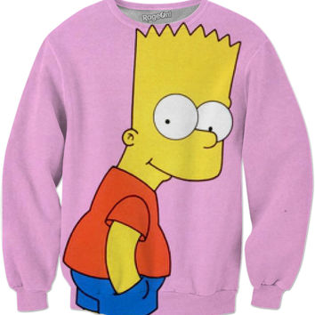 The Simpsons (Pink Tee)