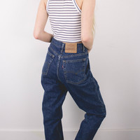 Vintage (LARGE) Levis High Waisted Denim Jeans