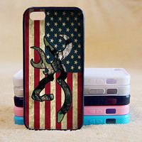 Browning Deer Camo American Flag,iPhone 5/ 5S/5C Case, Phone case,iPhone 4 Case, iPhone 4S Case,Galaxy S3/S4/S5/Note,iPad,iPod,Case,More