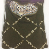 Hoodrat ghetto naughty perfect babe top size S