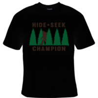 Hide and Seek Champion Big Foot T-Shirt Men's