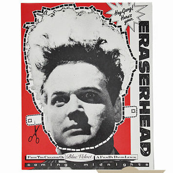 Eraserhead Midnight Screening Mask Poster