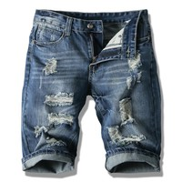 Summer Men Short Jeans Men's Fashion Shorts Men Big Sale Summer Clothes New Fashion Brand Men's Short Pants