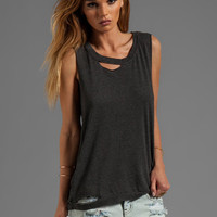 Chaser Deconstructed Muscle in Black from REVOLVEclothing.com