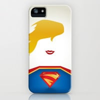 SUPERGIRL iPhone & iPod Case by RobozCapoz