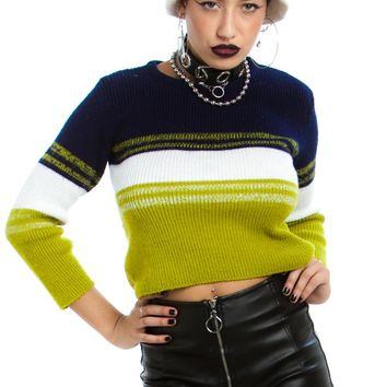 Vintage 90's Rave Girl Sweater - One Size Fits Many