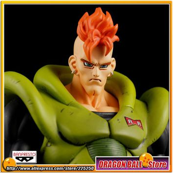 Japanese Anime DRAGONBALL Dragon Ball Z Original BANPRESTO SCultures Zoukei Tenkaichi Budoukai 1 Toys Figures - Android NO.16