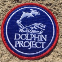 DOLPHIN PROJECT LOGO PATCH – ROUND