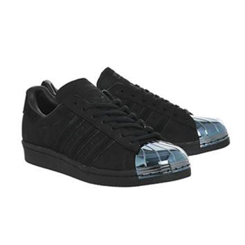 Adidas Superstar 80's Metal Toe W Black Petrol - Hers trainers