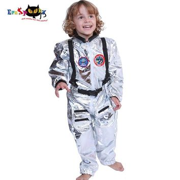 Cool 5-7 Years Boys Costume for Kids Alien Astronaut Cosplay Spaceman Children Fancy Clothes Hip Hop Stage Costume Halloween OutfitAT_93_12