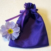 Purple Silky Gift Bags Small