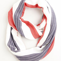 Nautical Smiles All Around Circle Scarf by ModCloth