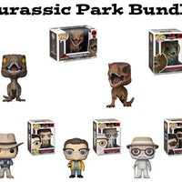 Jurassic Park Funko Pop! Movies Bundle