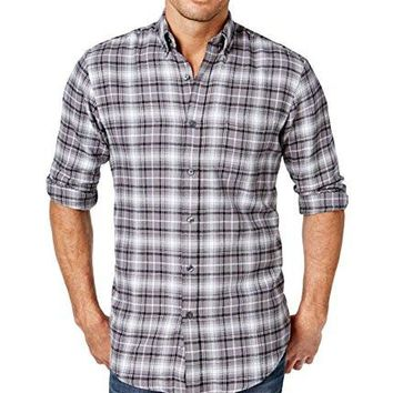 John Ashford Men's Long-Sleeve Flannel Shirt, Assorted Colors