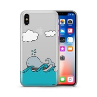 The Whale Case - Clear TPU Case Cover