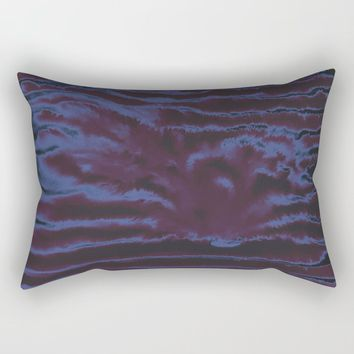faux tie-dye Rectangular Pillow by duckyb