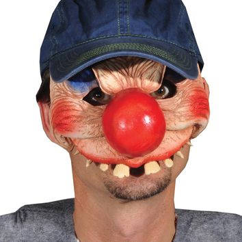Clowning Around Halloween freak show circus carnival mask