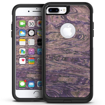 Slate Marble Surface V38 - iPhone 7 or 7 Plus Commuter Case Skin Kit