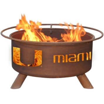Miami Steel Fire Pit by Patina Products
