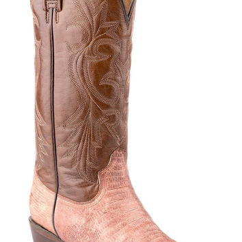 Roper Ladies Faux Exotic On Leather Sniptoe Boots Snip Toe Faux Teju