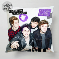 5 Seconds of Summer 5 OS dont stop pillow case, cover ( 1 or 2 Side Print With Size 16, 18, 20, 26, 30, 36 inch )