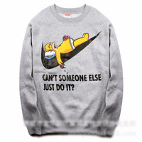 """Can Someone Else Just Do it"" Fleece Couple Hoodies [8540798727]"