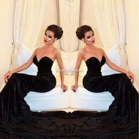 Sexy Womens Ladies Prom Ball Cocktail Party Dress Formal Evening Gown Size SML