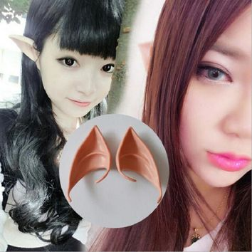 1 Pair Elf Ears Party Mask  Masquerade Party Ball Prom Halloween Mask Party Masks Fancy Dress Halloween Party Latex Ears