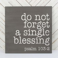 Psalm 103:2 Wall Art | Altar'd State