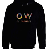Oh Wonder Title Colorize Hoodie